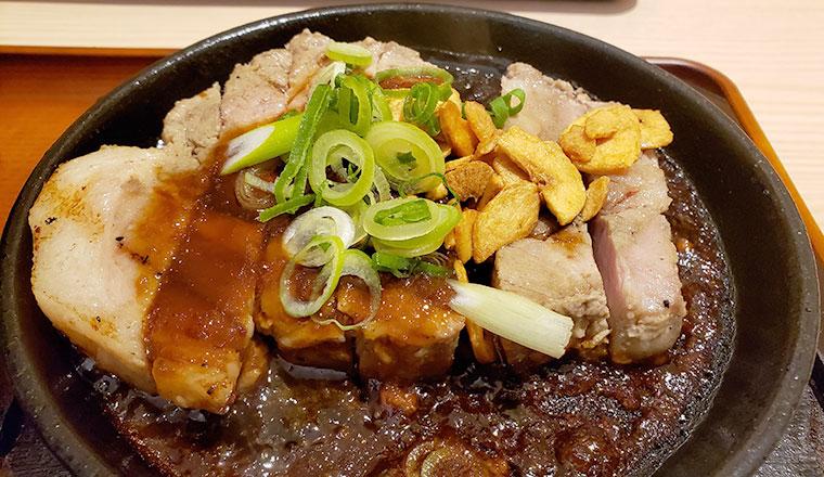 ステーキの店 吉備 ピーチポークトンテキ定食(200g)