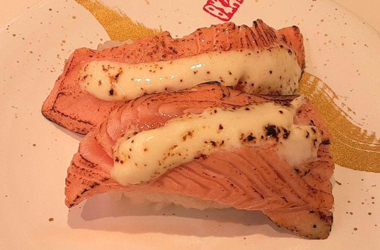 海鮮三崎港 さんすて岡山店 炙りサーモンチーズ